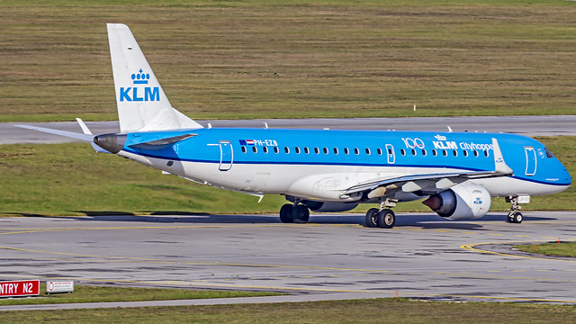 KLM Embraer EMB190STD PH-EZB Munich (MUC/EDDM)