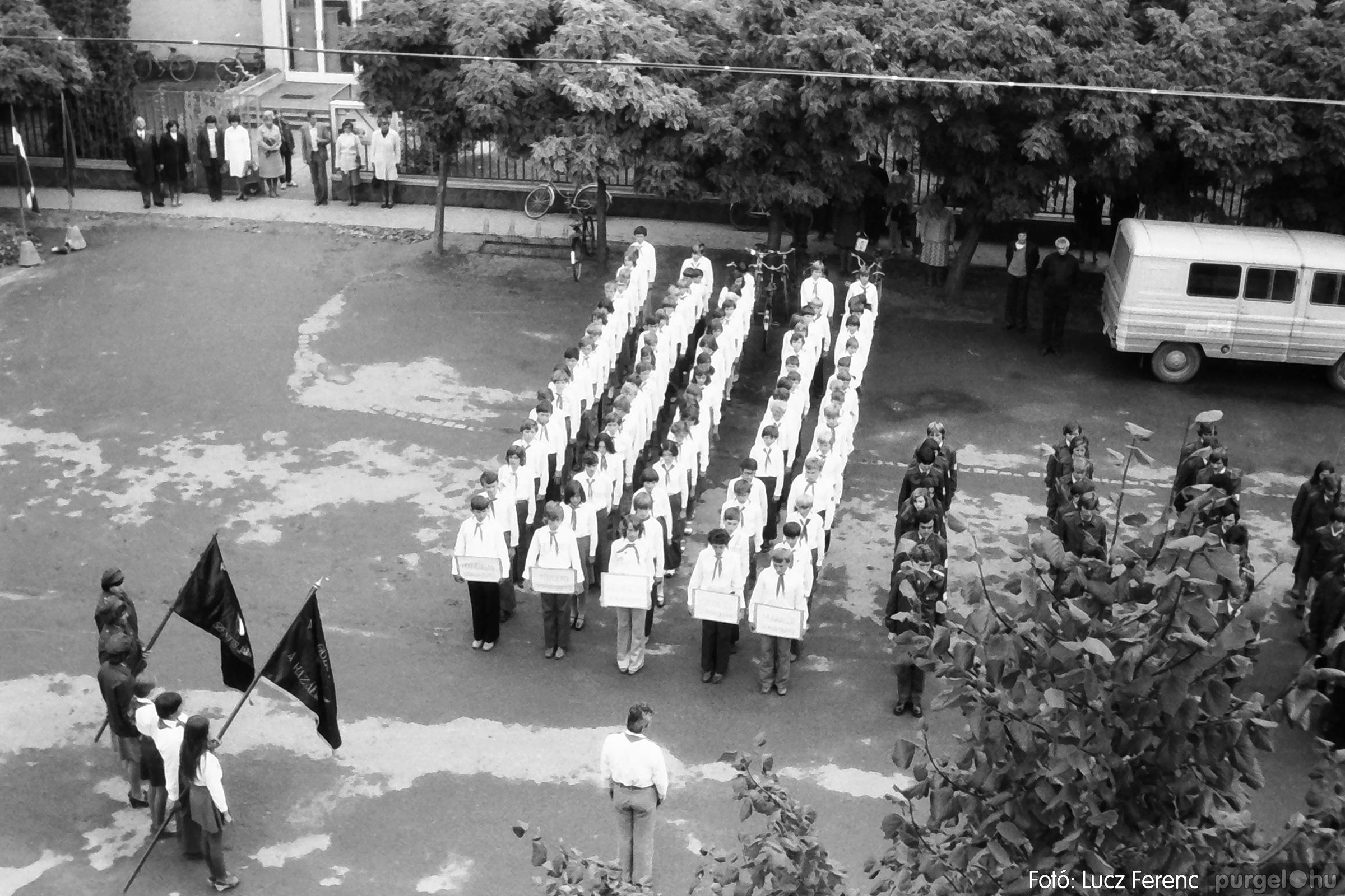 090. 1977. Úttörő gárda - ifjú gárda seregszemle 021. - Fotó: Lucz Ferenc.jpg