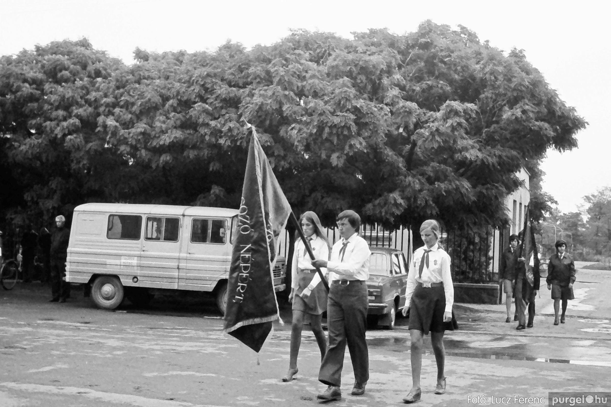 090. 1977. Úttörő gárda - ifjú gárda seregszemle 012. - Fotó: Lucz Ferenc.jpg