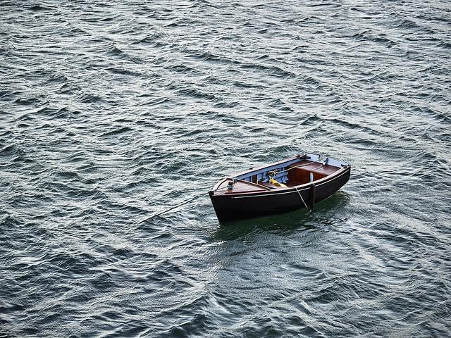 Le bateau et la mer