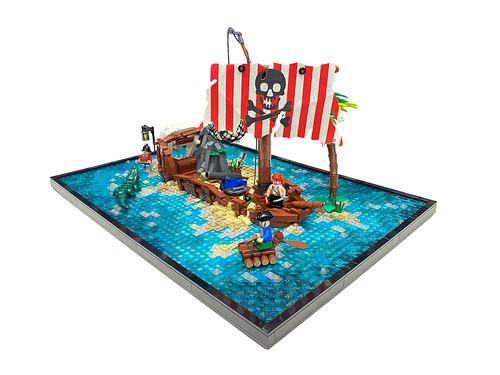 """6296 Shipwreck Island Remake"""