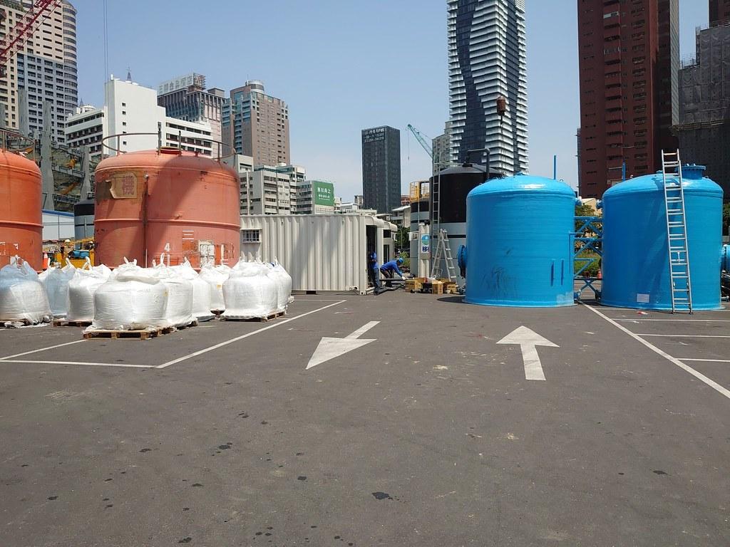 台水公司積極運用優質建築工地地下水以挹注民生用水需求。照片提供:經濟部