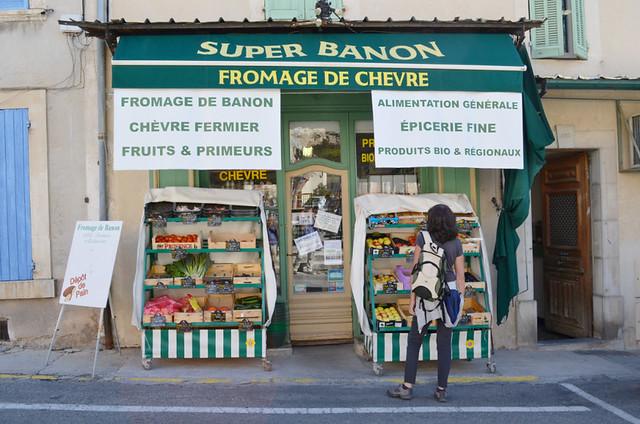 Cheese shop, Banon, Provence, France
