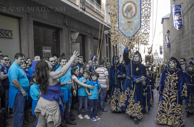 Lorca - Paso Azul. Domingo de Ramos