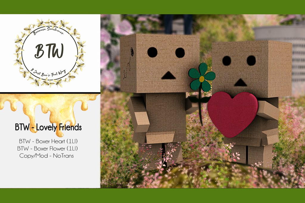 BTW - Lovely Friends