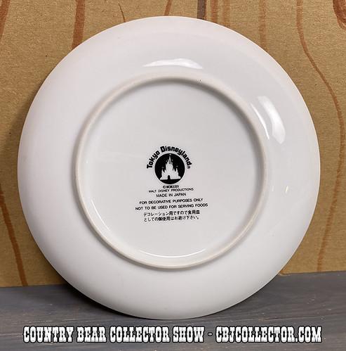 1985 Tokyo DIsneyland Westernland Decorative Plate - CBCS 304