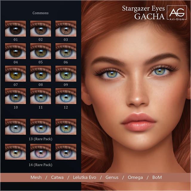 AG. Stargazer Eyes Gacha