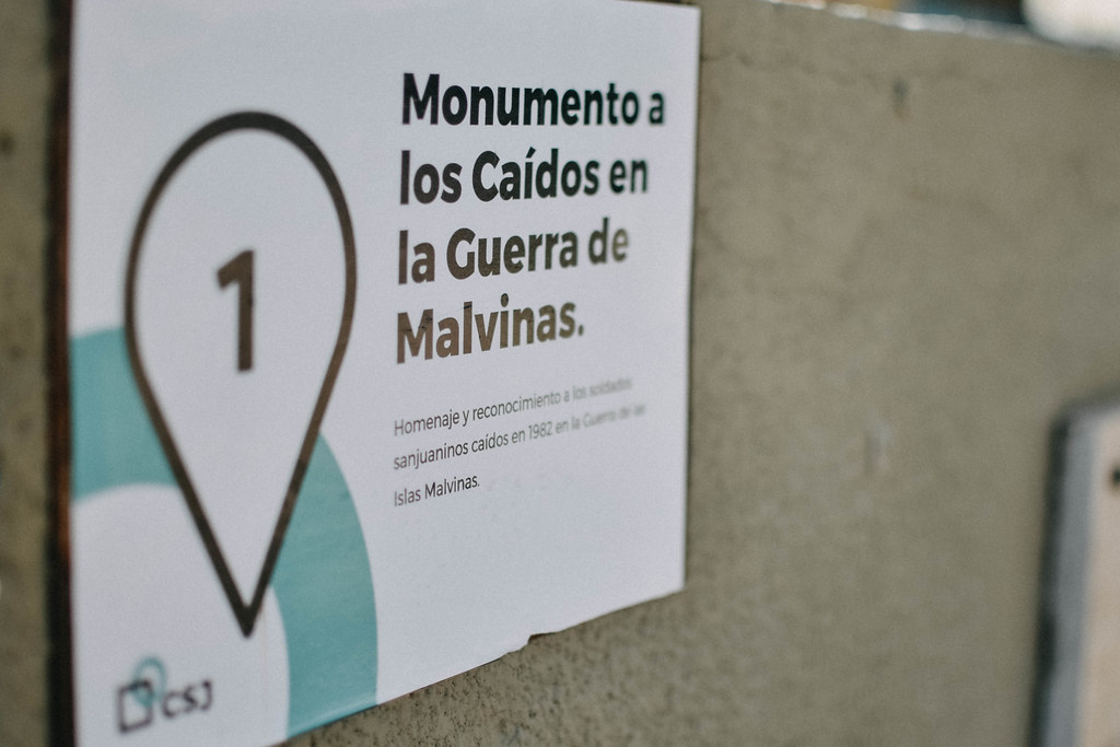 2021-04-16 GOBIERNO: Inauguración monumento a caídos de Malvinas