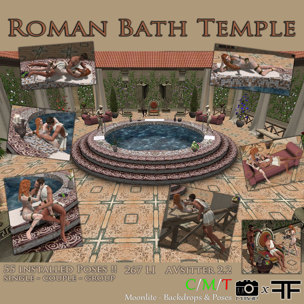 Roman Bath Temple Full Set