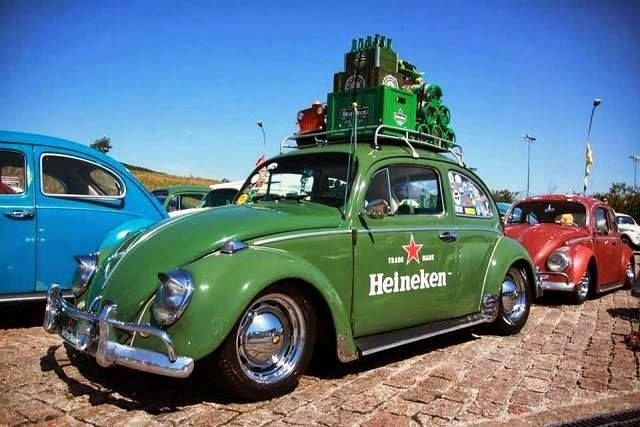 Volkswagen Coccinelle Heineken