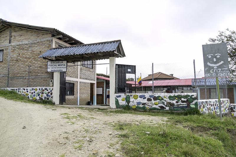 Visita y Recorrido Escuela de Educación Básica Efraín Pilco