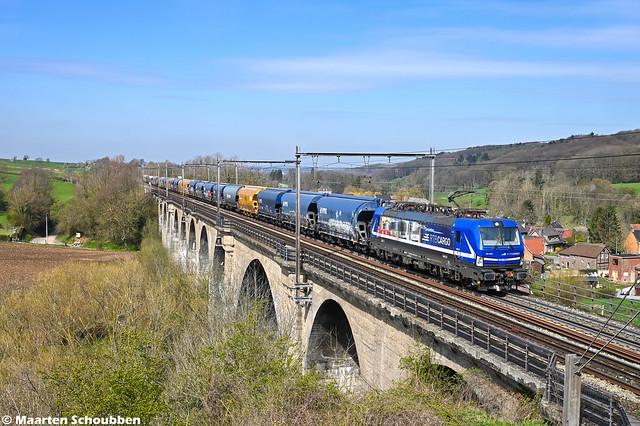 RTBC 193 565 Sint-Martens-Voeren 14-04-2021 (Gent-Rodenhuize - Aachen-West)n
