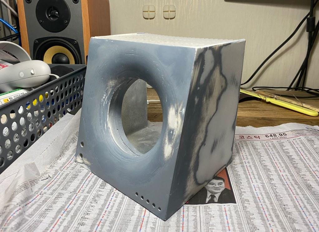 Enceinte Bluetooth Ferrofluide