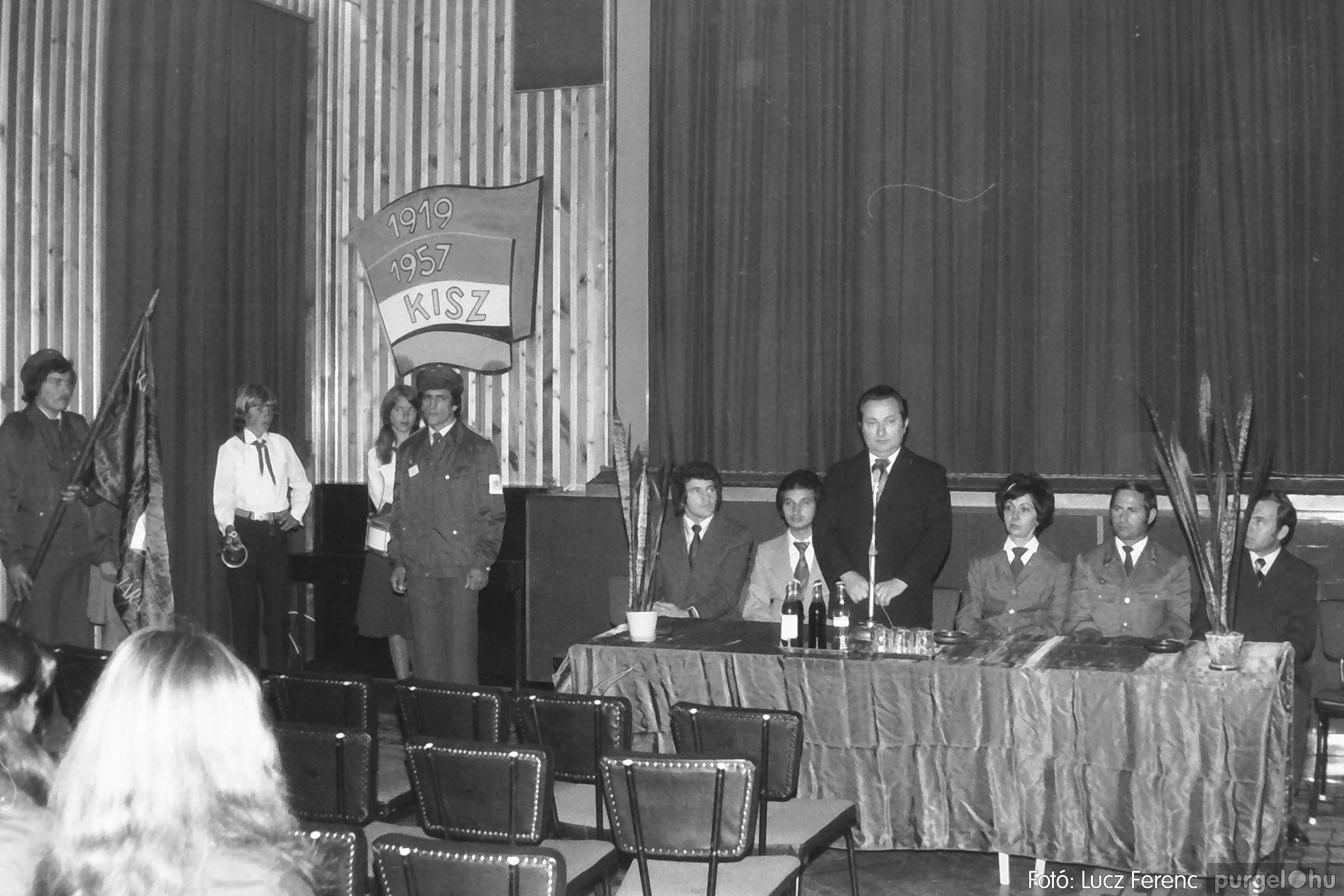 090. 1977. Úttörő gárda - ifjú gárda seregszemle 026. - Fotó: Lucz Ferenc.jpg