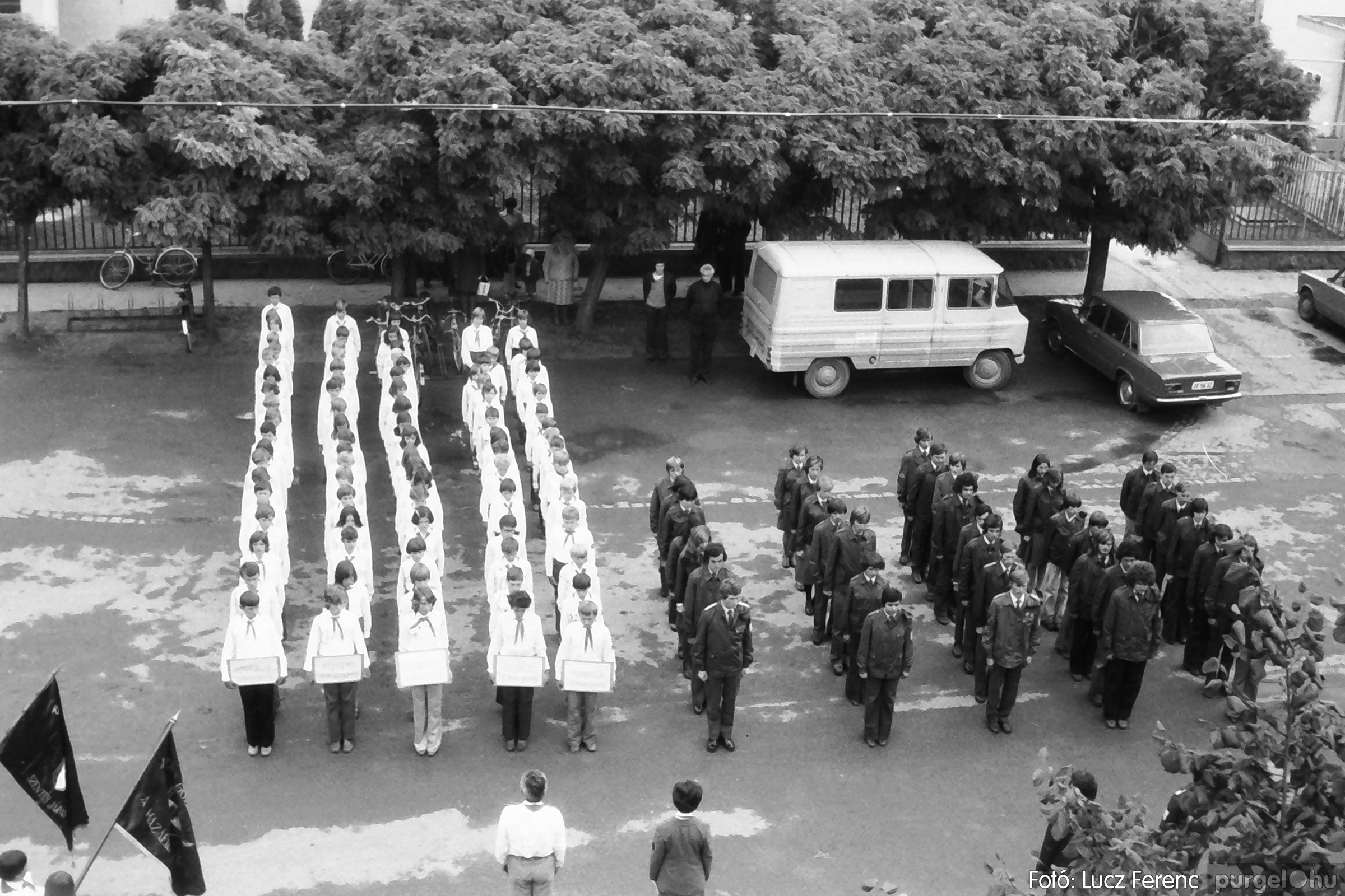 090. 1977. Úttörő gárda - ifjú gárda seregszemle 020. - Fotó: Lucz Ferenc.jpg
