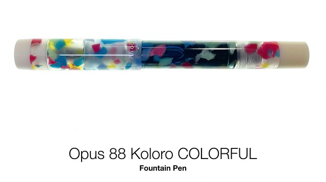 Opus 88 Koloro COLORFUL Fountain Pen