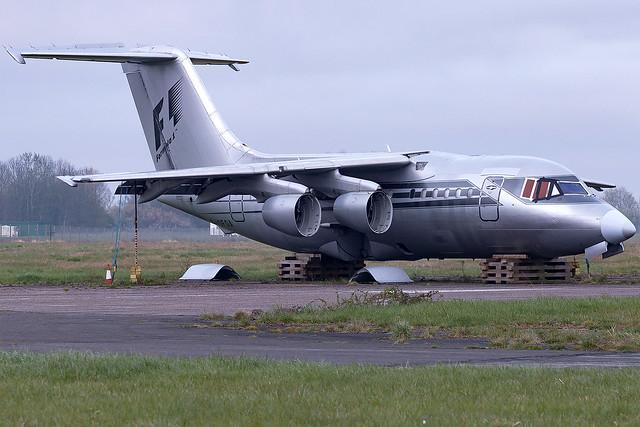 G-OFOA Forumula One Managment LTD BAE 146-100 Cranfield