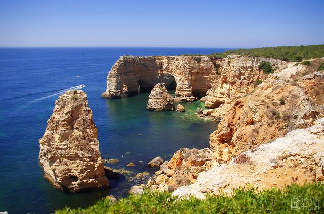 The Beautiful Algarve Coast,