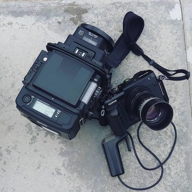 Fujifilm GX 125mm f3.2 6×8中片人像初回試