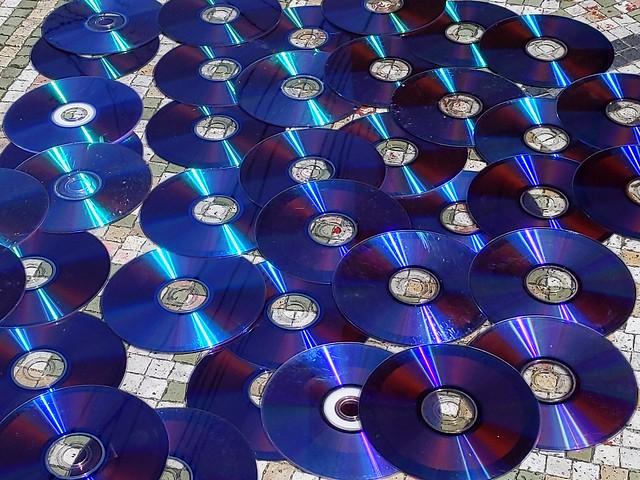 DVD spill