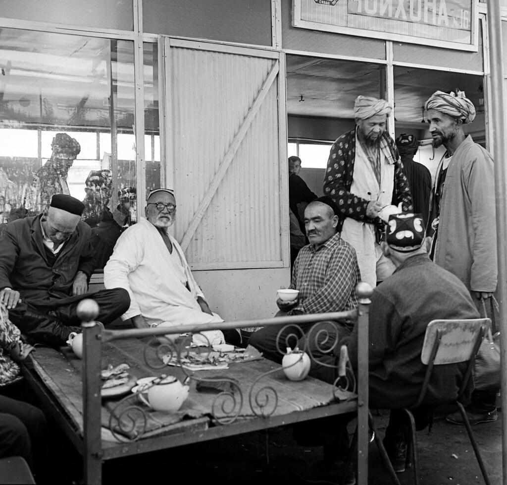 Самарканд. Сиабский базар.