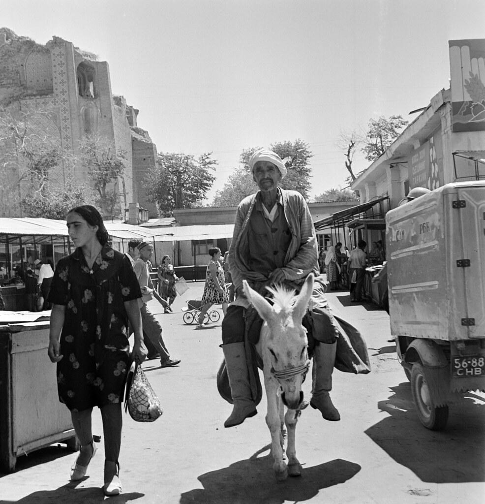 Самарканд. Сиабский базар.3