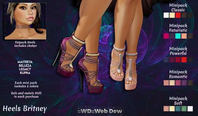 -Closed- GIVEAWAY 🎁 Heels Britney @ Beauty Event