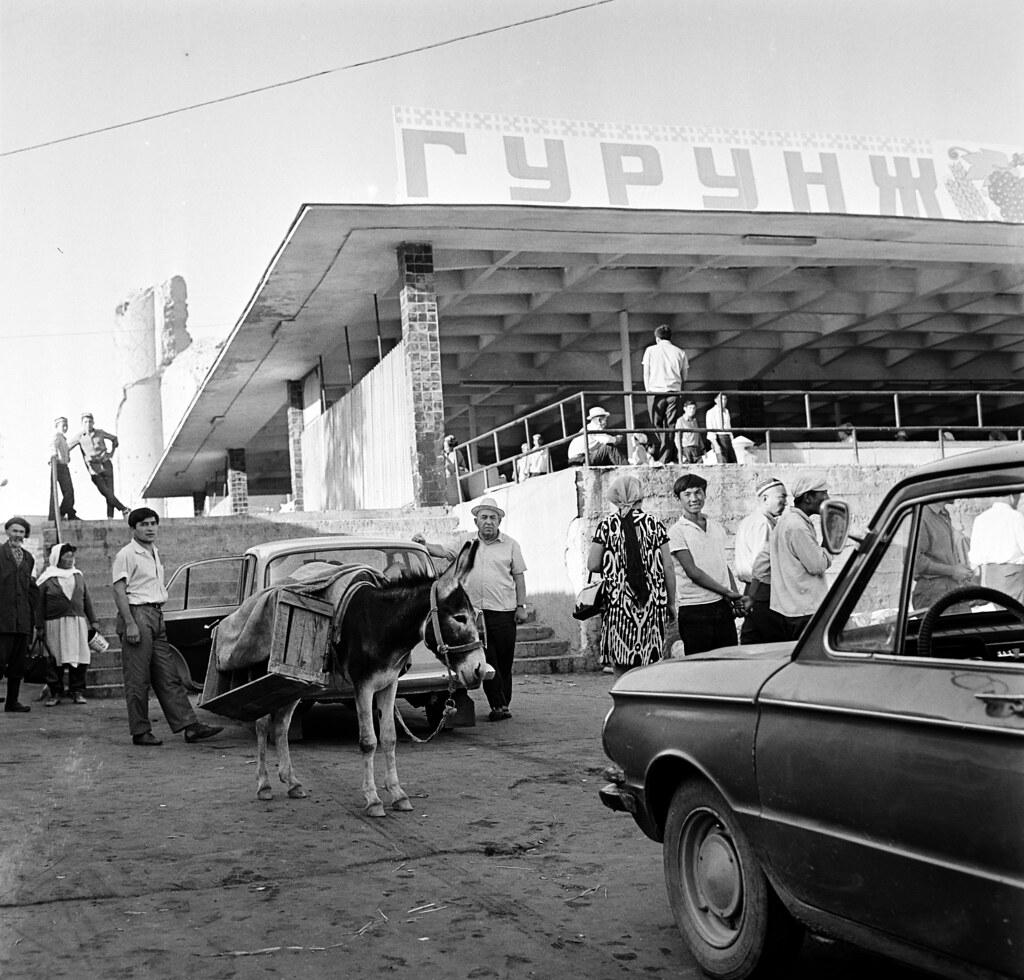 Самарканд. Сиабский базар.5