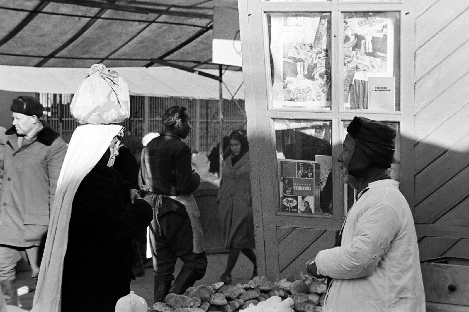 Самарканд. Сиабский базар