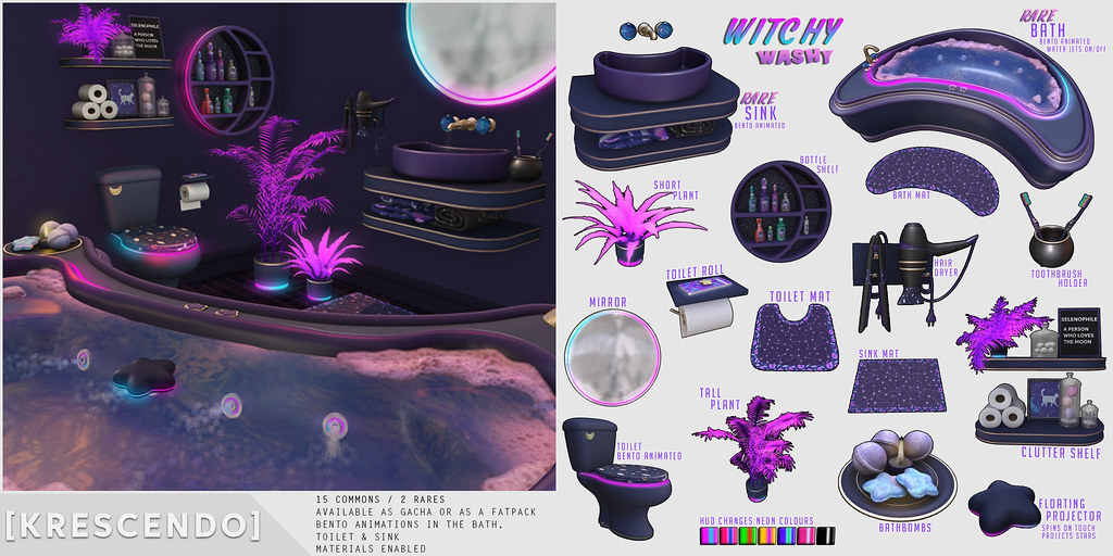 [Kres] Witchy Washy