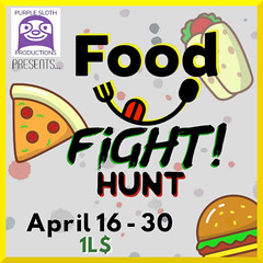 PSP FOOD FIGHT!!! Hunt - NOW through April 30