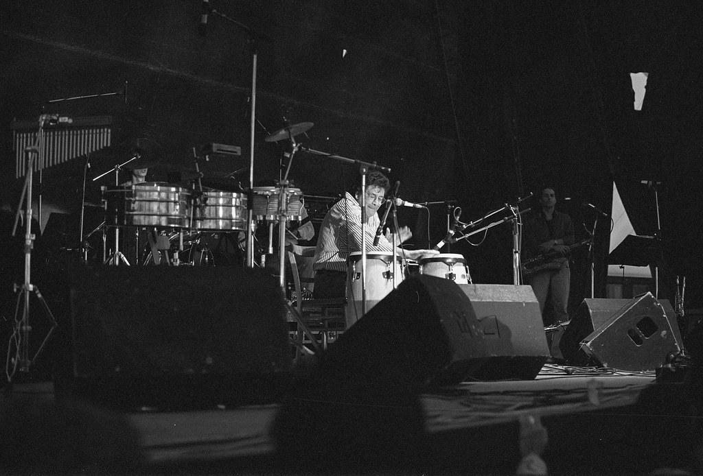 Ray Barretto, 10.07. 1994 Jazzfest Wiesen