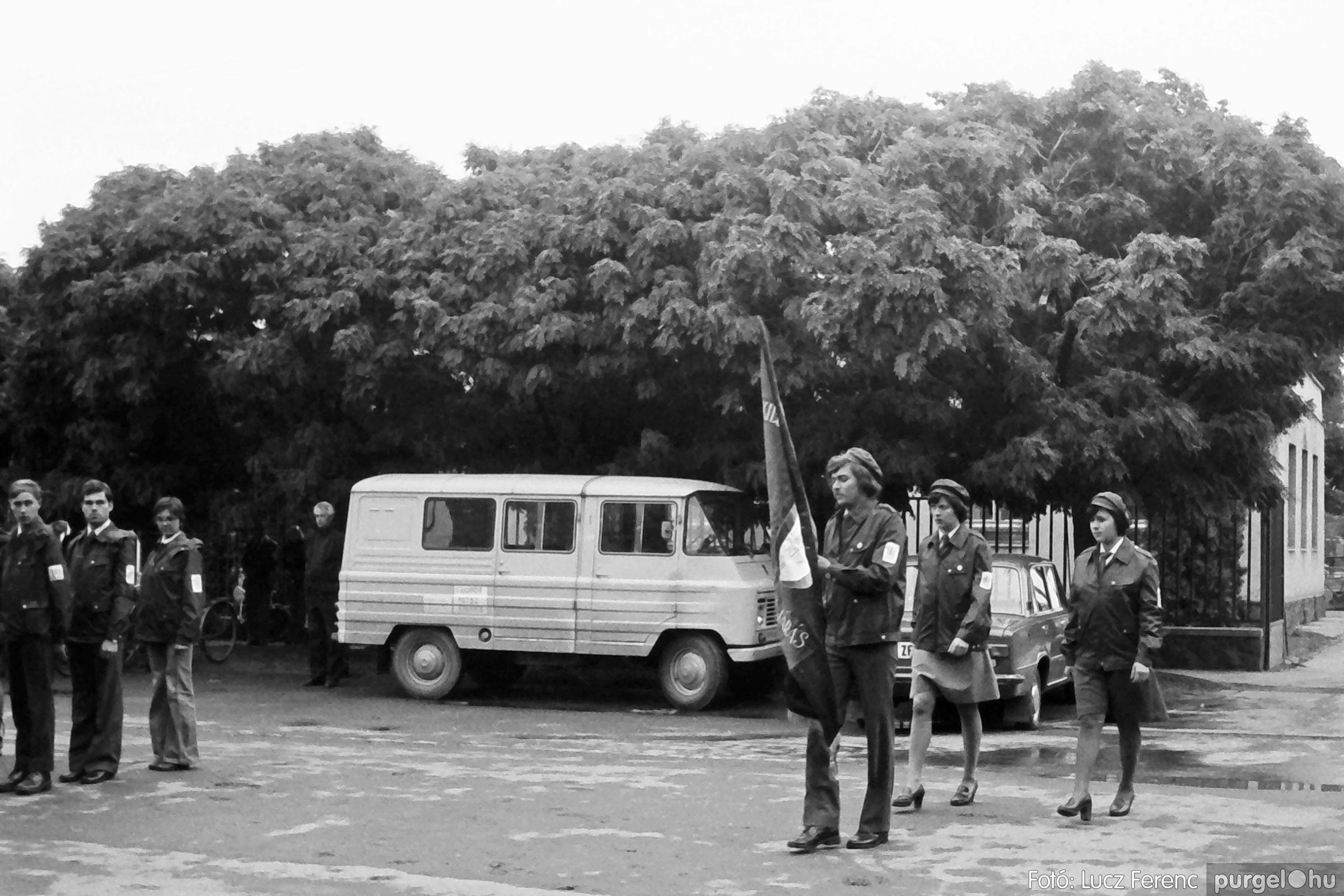 090. 1977. Úttörő gárda - ifjú gárda seregszemle 013. - Fotó: Lucz Ferenc.jpg