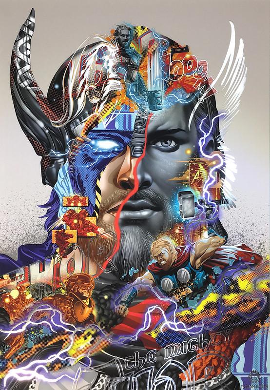 Tristan Eaton Thor