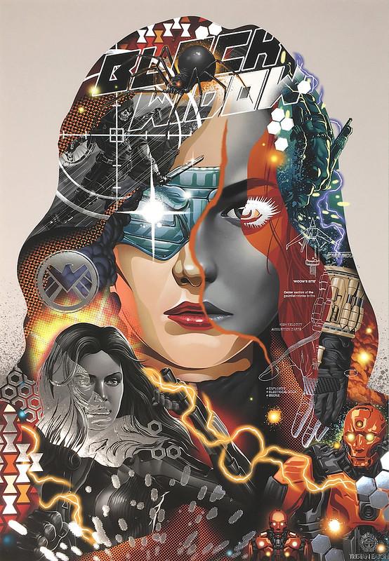 Tristan Eaton Black Widow