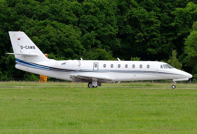 D-CAWB Aerowest Cessna 680 Citation Sovereign