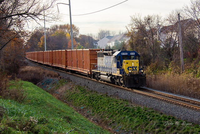 CSXT 8196 PHILA PA TRAIN:UNK 19-NOV.2011