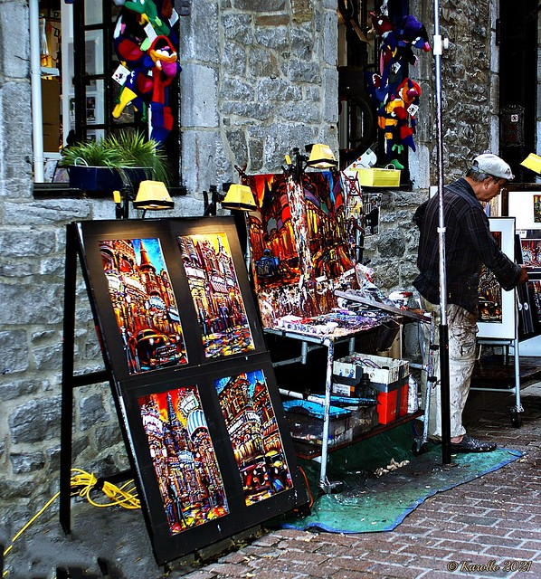 Joyful creativity - Vieux Montréal