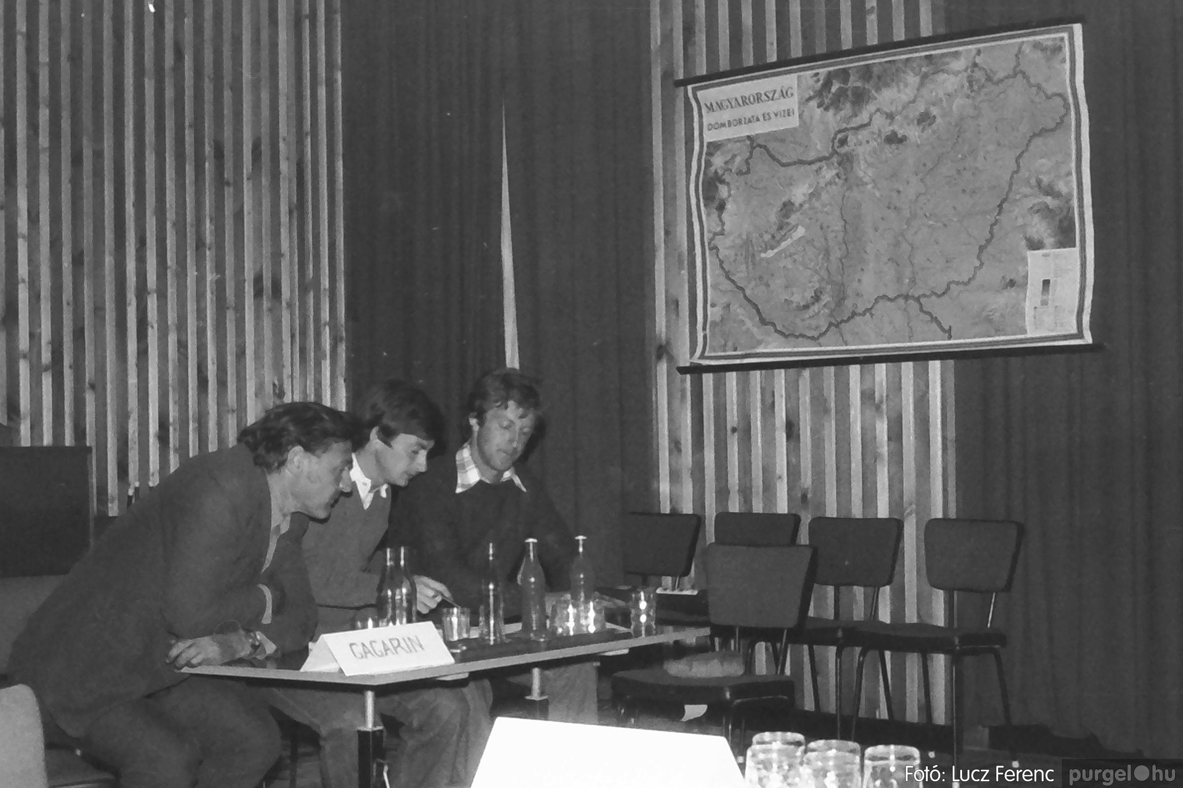 090. 1977. Puskin TSZ szocialista brigád vetélkedője 009. - Fotó: Lucz Ferenc.jpg
