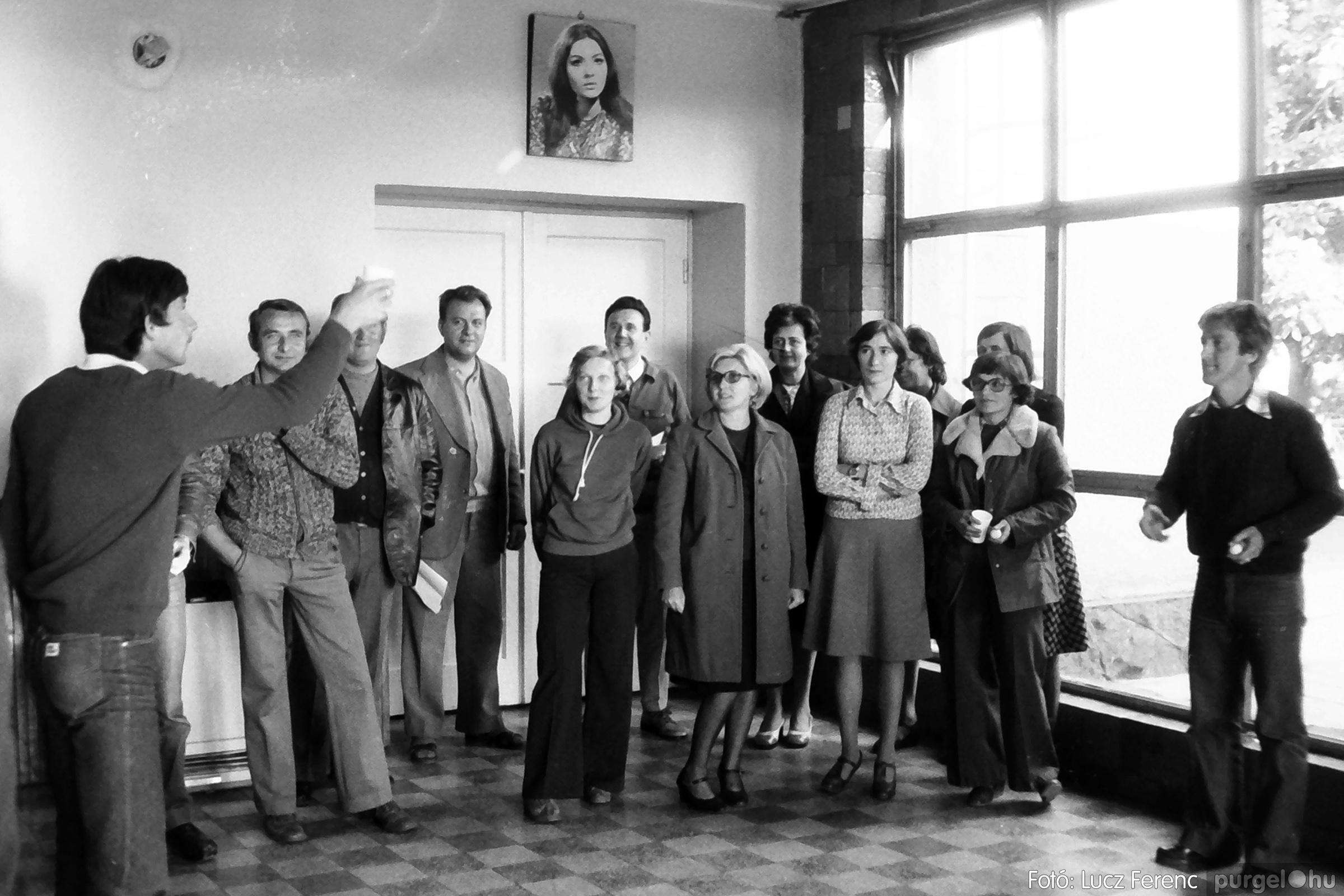090. 1977. Puskin TSZ szocialista brigád vetélkedője 006. - Fotó: Lucz Ferenc.jpg