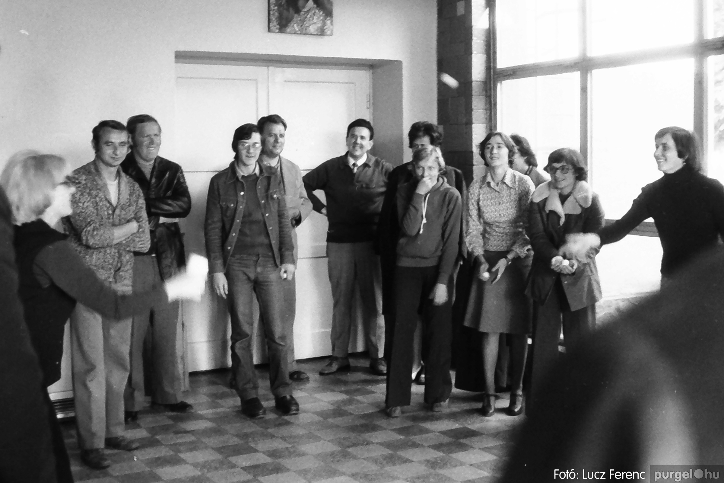 090. 1977. Puskin TSZ szocialista brigád vetélkedője 005. - Fotó: Lucz Ferenc.jpg