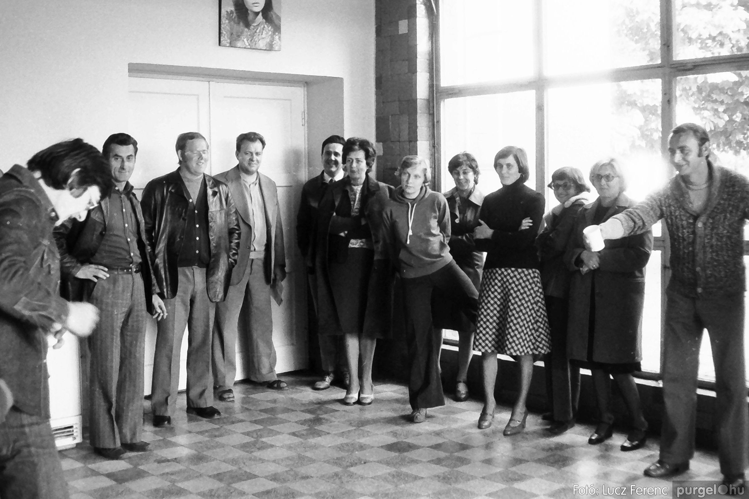090. 1977. Puskin TSZ szocialista brigád vetélkedője 003. - Fotó: Lucz Ferenc.jpg