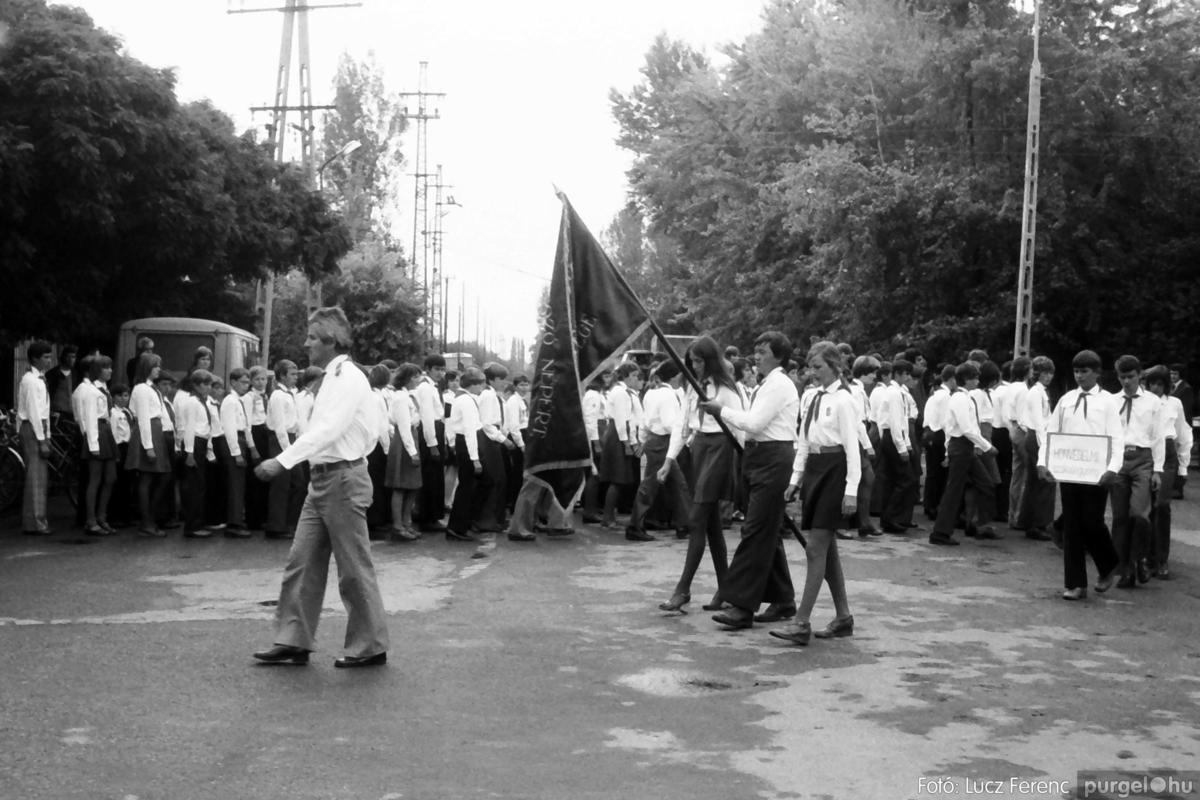090. 1977. Úttörő gárda - ifjú gárda seregszemle 024. - Fotó: Lucz Ferenc.jpg