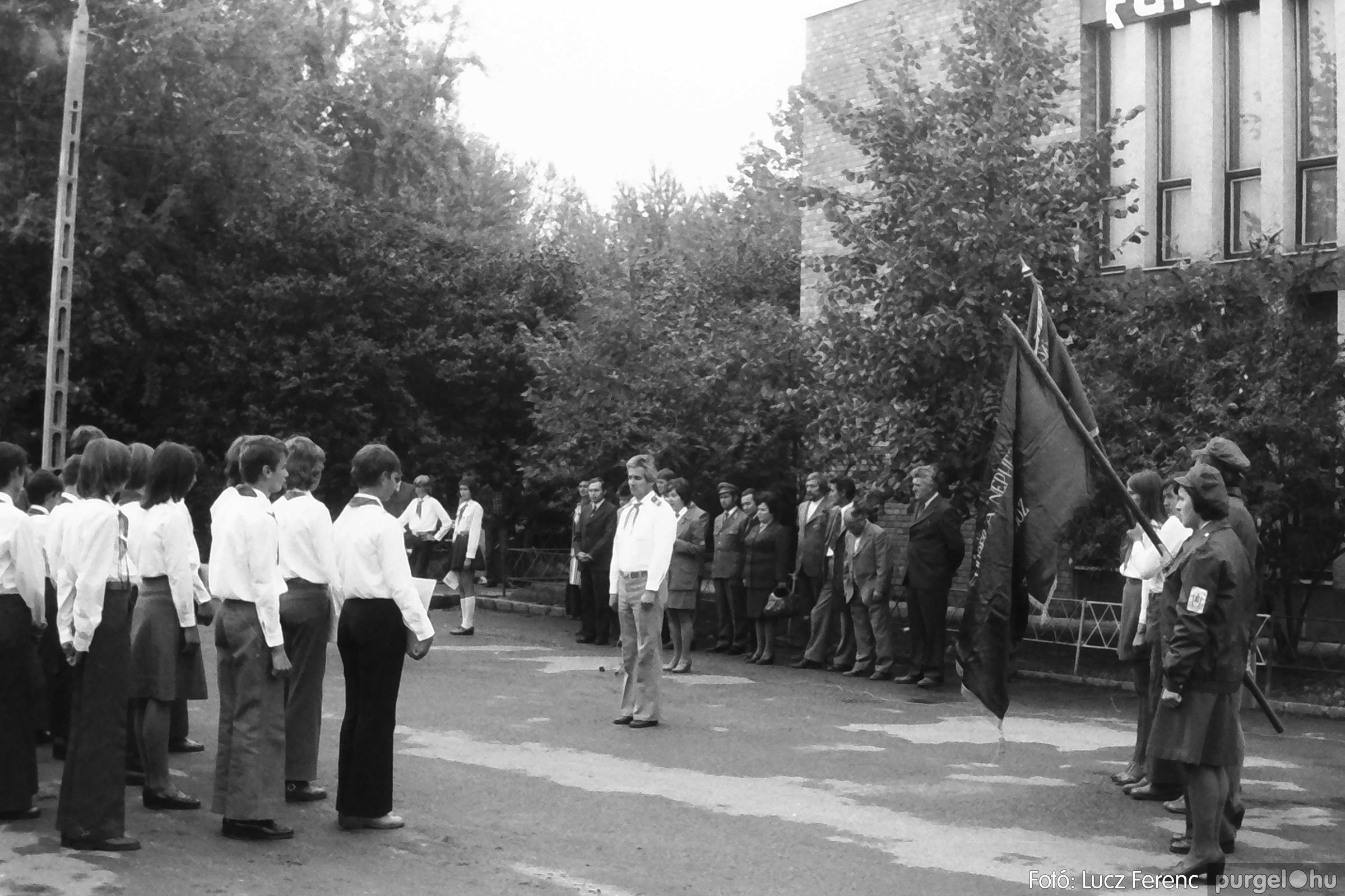 090. 1977. Úttörő gárda - ifjú gárda seregszemle 023. - Fotó: Lucz Ferenc.jpg