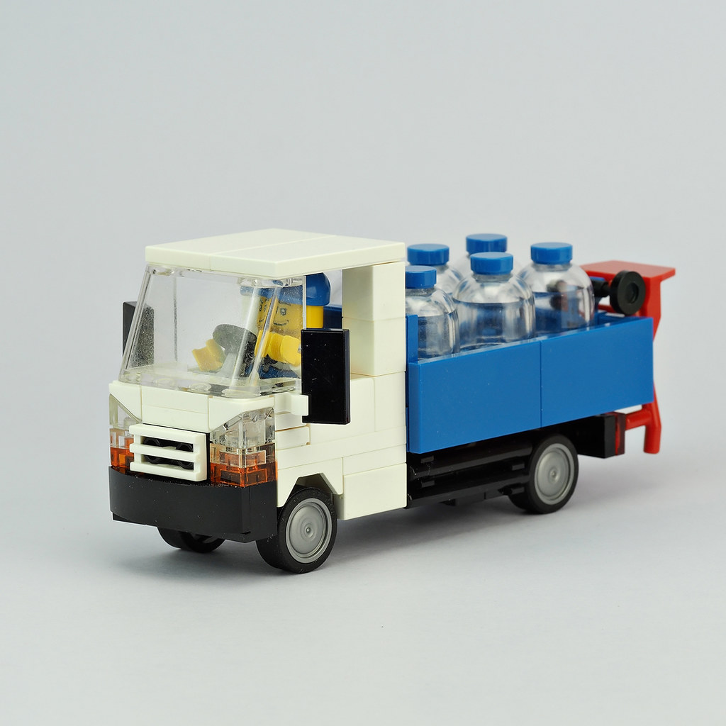 White Water Delivery Truck
