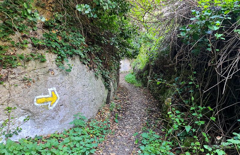 Camino de Santiago, Vía de Bayona en el desfiladero de Pancorbo (7)