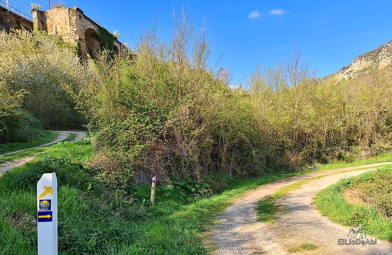 Camino de Santiago, Vía de Bayona en el desfiladero de Pancorbo (2)