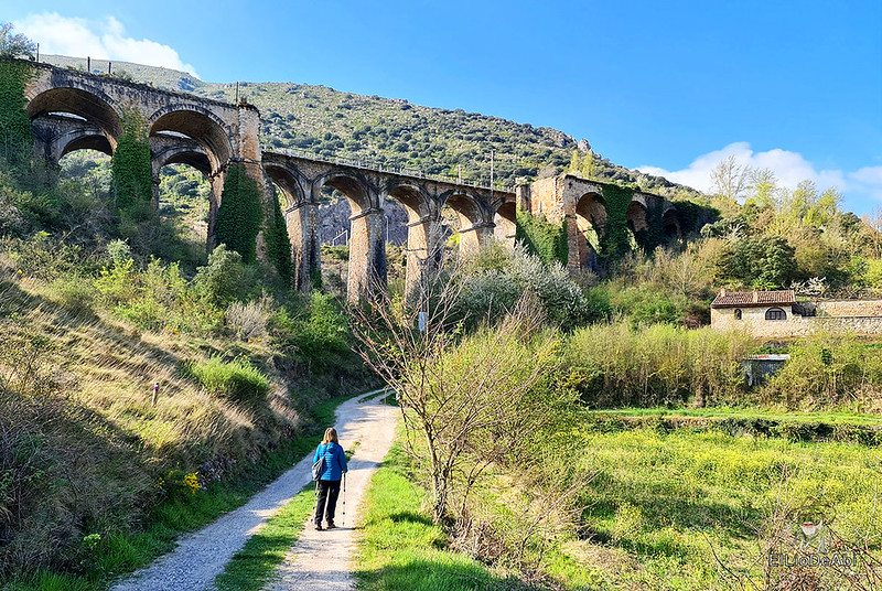 Camino de Santiago, Vía de Bayona en el desfiladero de Pancorbo (1)