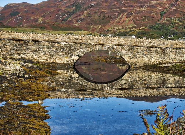the bridge to Eilean Donan neare Skye