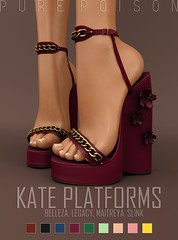 Pure Poison - Kate Platforms - FLF, 50L